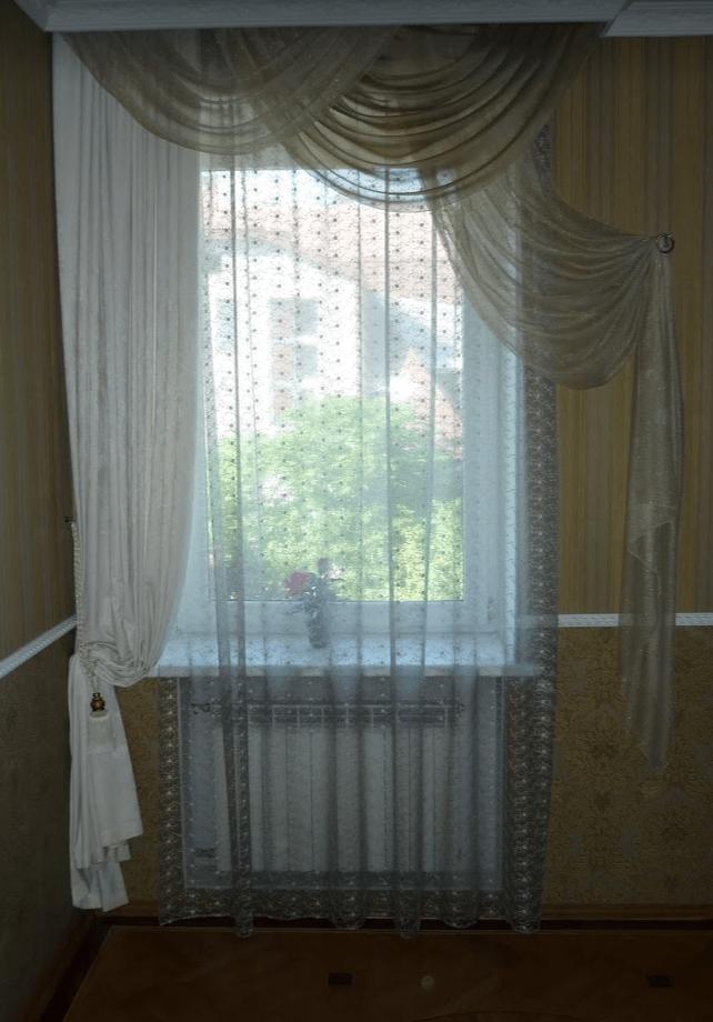 Химчистка штор дома