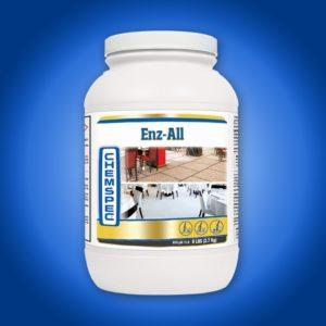 Порошковый энзимный преспрей, средство для предварительной обработки